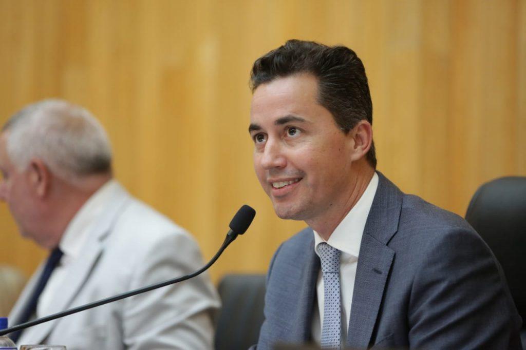 Manuel Calvo, presidente de la Legislatura de Córdoba