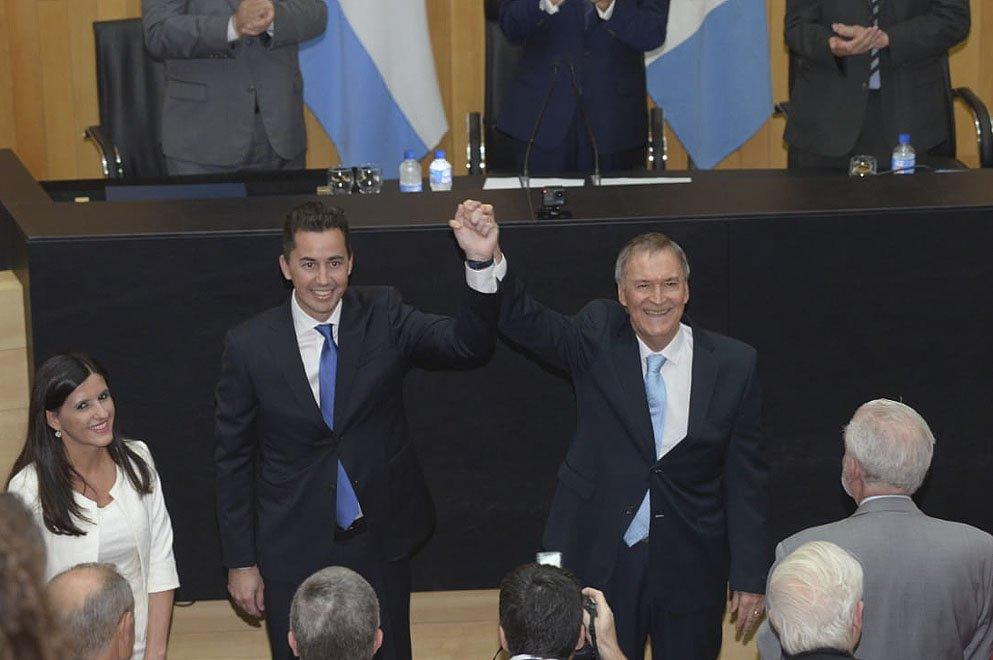 Jua Schiaretti y Manuel Calvo