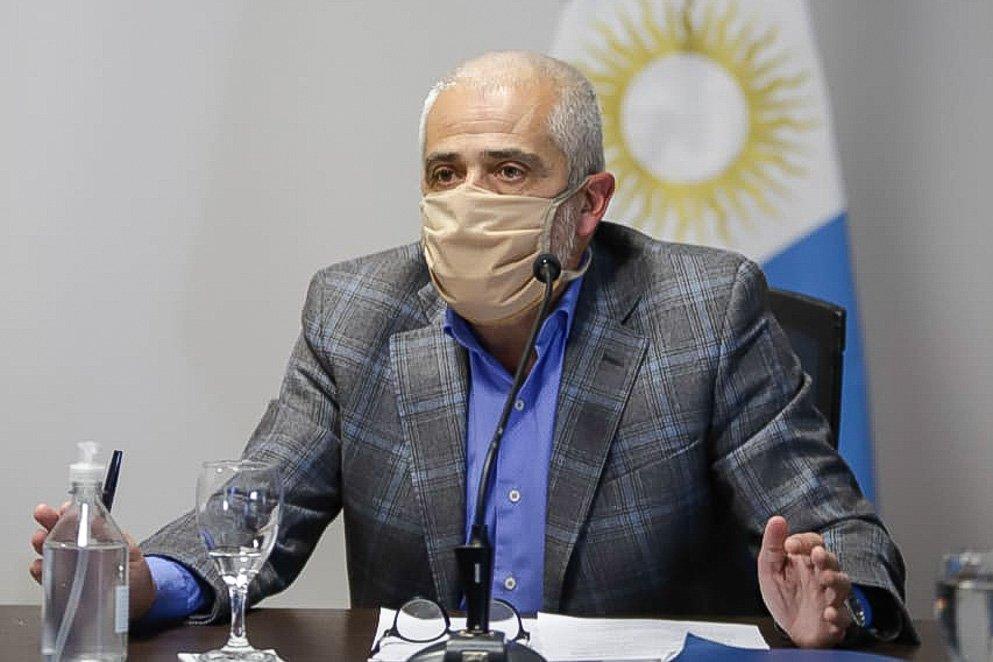 Omar Sereno, ministro de Trabajo