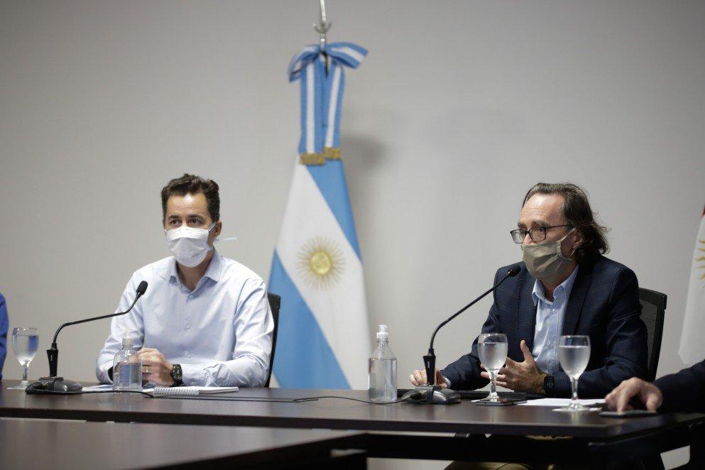 Manuel Calvo y Osvaldo Giordano