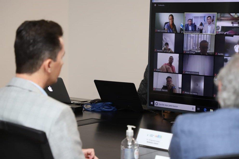 Reunión virtual Comisión Par