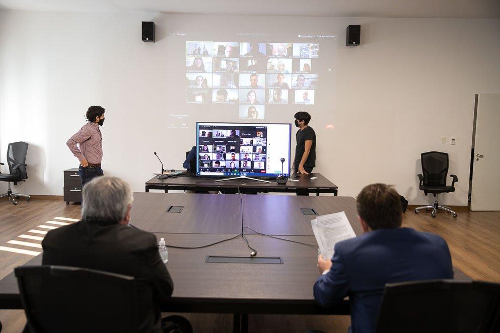 Reunión virtual de Comisiones