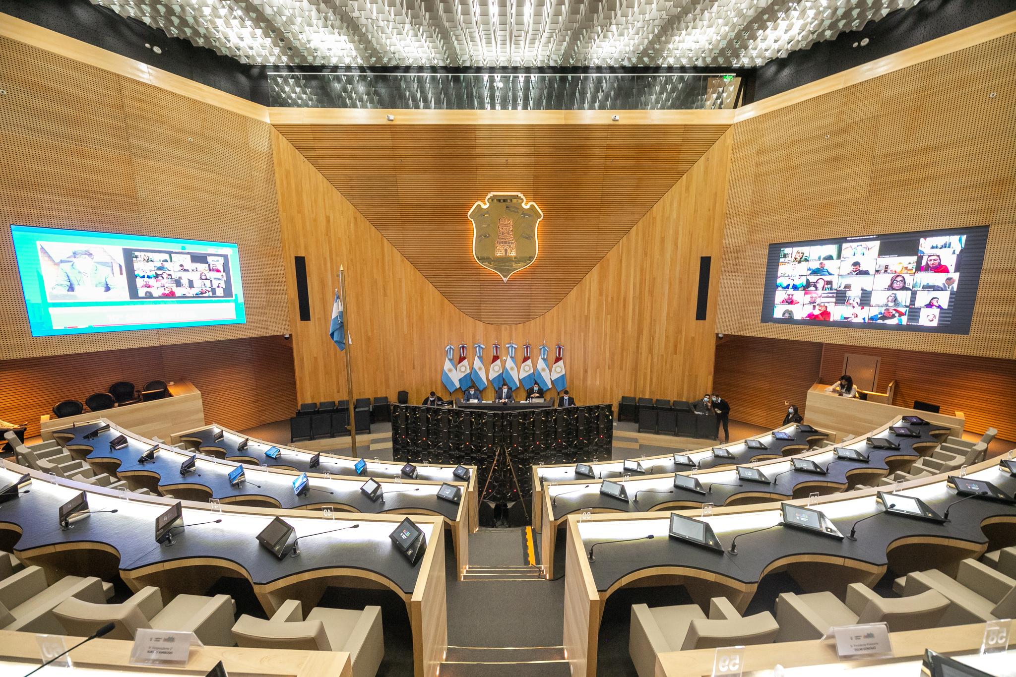 El recinto en la 10ma Sesión Virtual