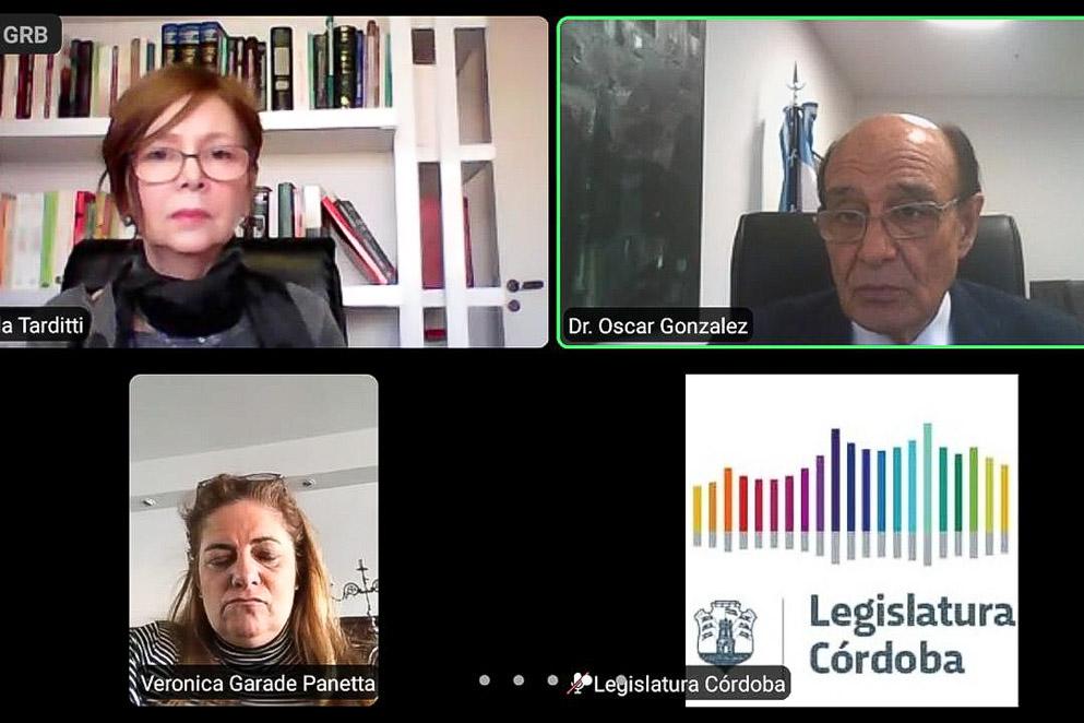 Reunión virtual del Jury de Enjuiciamiento