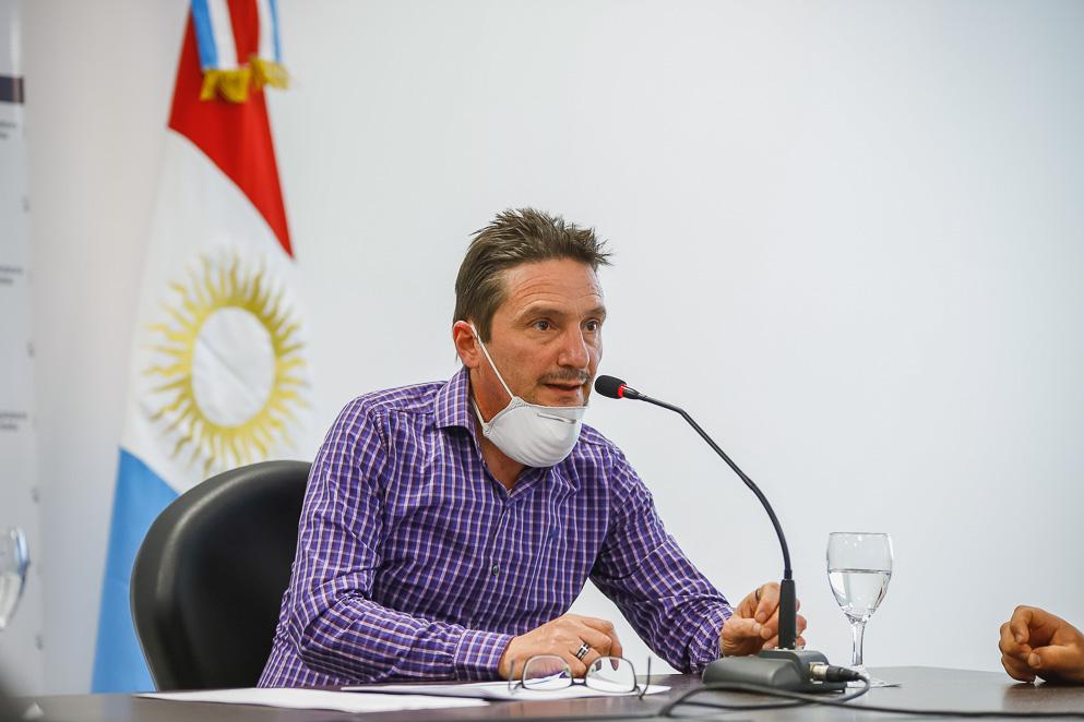 Gustavo Visintín, jefe de departamento del Sistema Provincial de Sangre