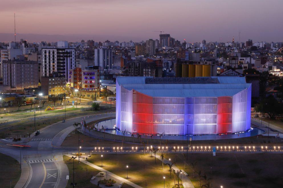 La Legislatura se ilumina con los colores de Córdoba