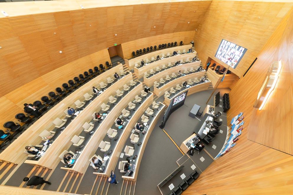 1ª Jornada del Modelo Universitario de Cámara de Senadores OAJNU.