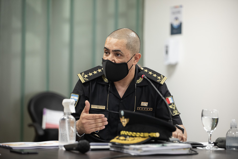 Francisco Adrián Salcedo, jefe de la FPA
