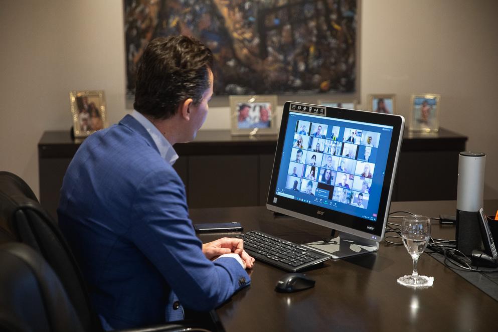 Charla virtual a concejos deliberantes
