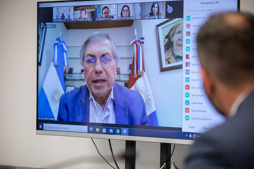 El ministro de Desarrollo Social participó de la Comisión de Derechos Humanos