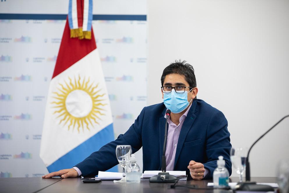 El ministro Diego Cardozo estuvo en la Comisión de Salud Humana