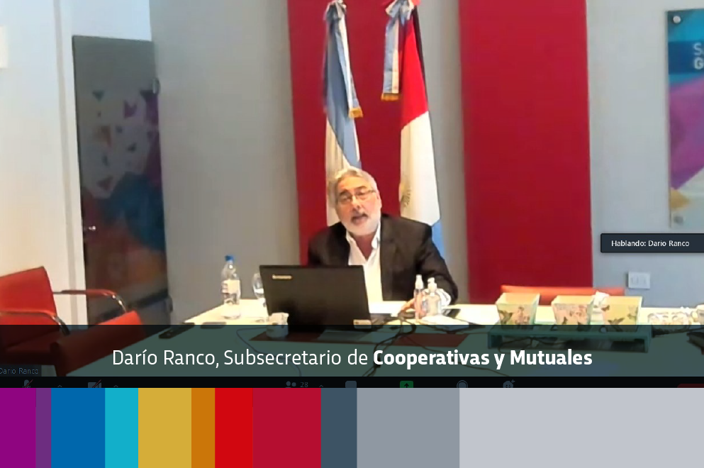 El Ejecutivo expuso el trabajo que realiza junto a mutuales y cooperativas