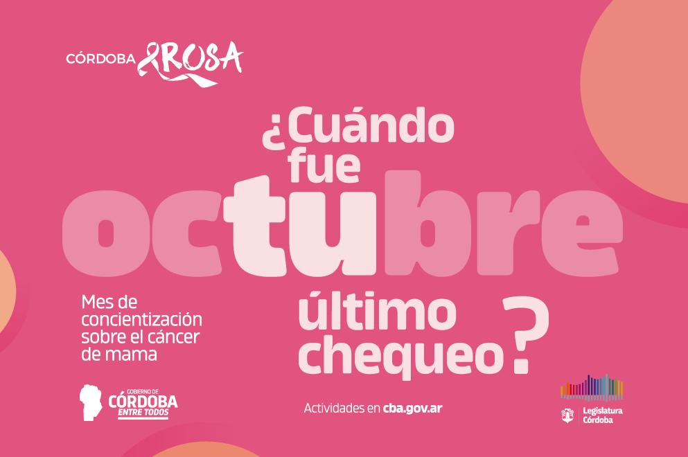 La Legislatura se suma a la campaña de concientización contra el cáncer de mama