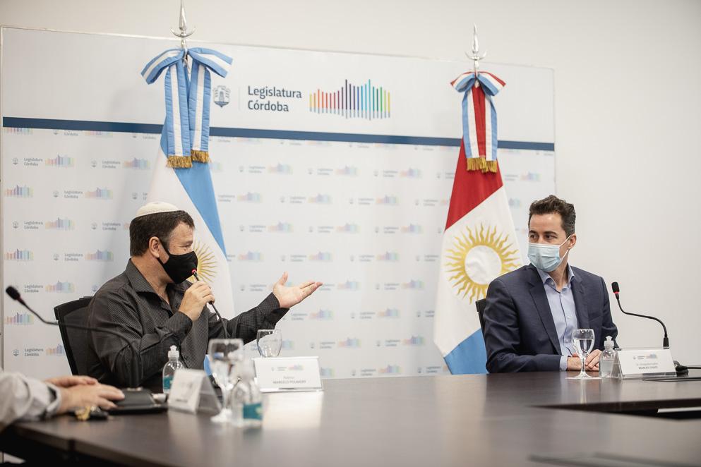 El vicegobernador se reunió con el COMIPAZ