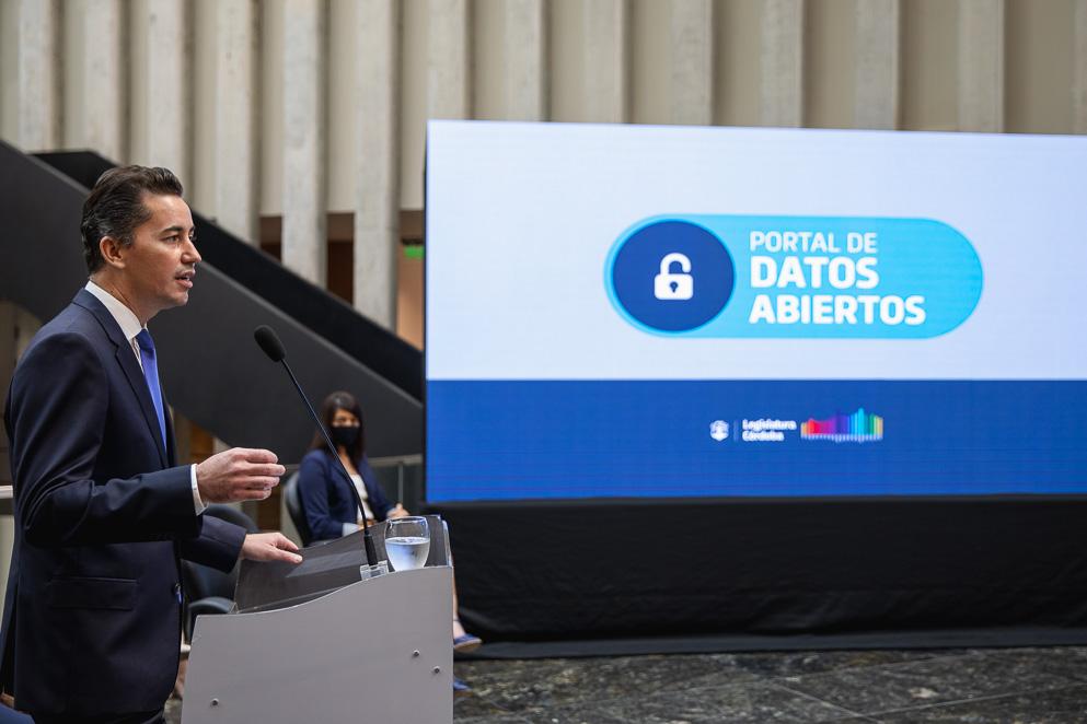 Presentación del Portal de Datos Abiertos