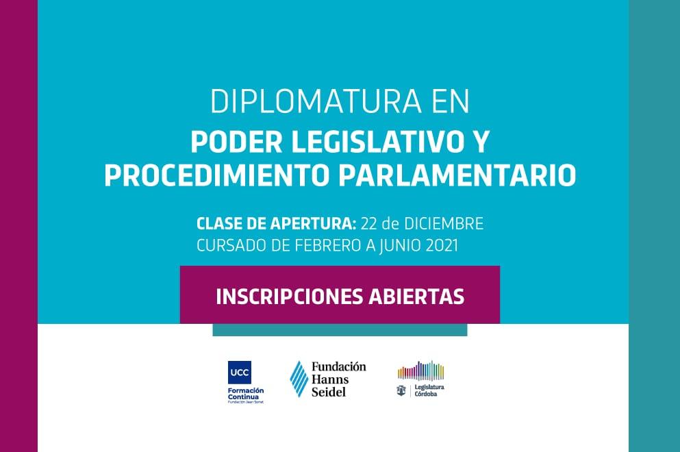 Diplomatura en Poder Legislativo y Procedimiento Parlamentario