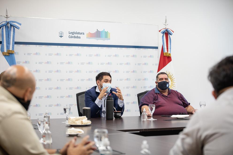 Legislador Chamorro y Hugo Yagüe