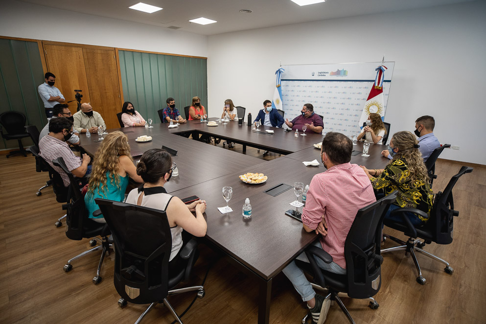 Reunión cierre de año Comisión de Cooperativas y Mutuales junto a mesas de asociativismo