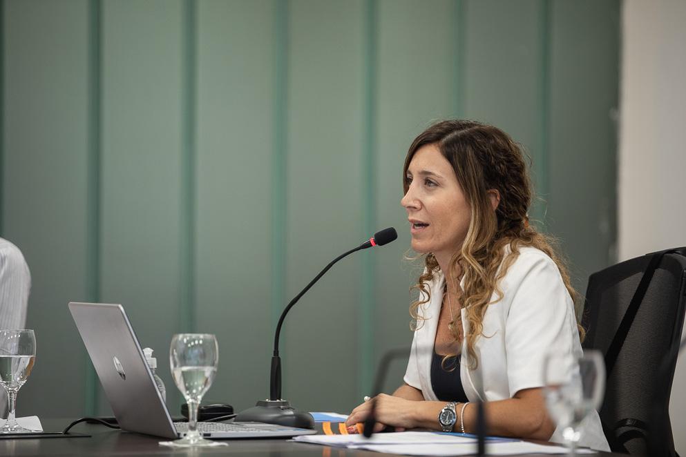 Ministra Laura Jure