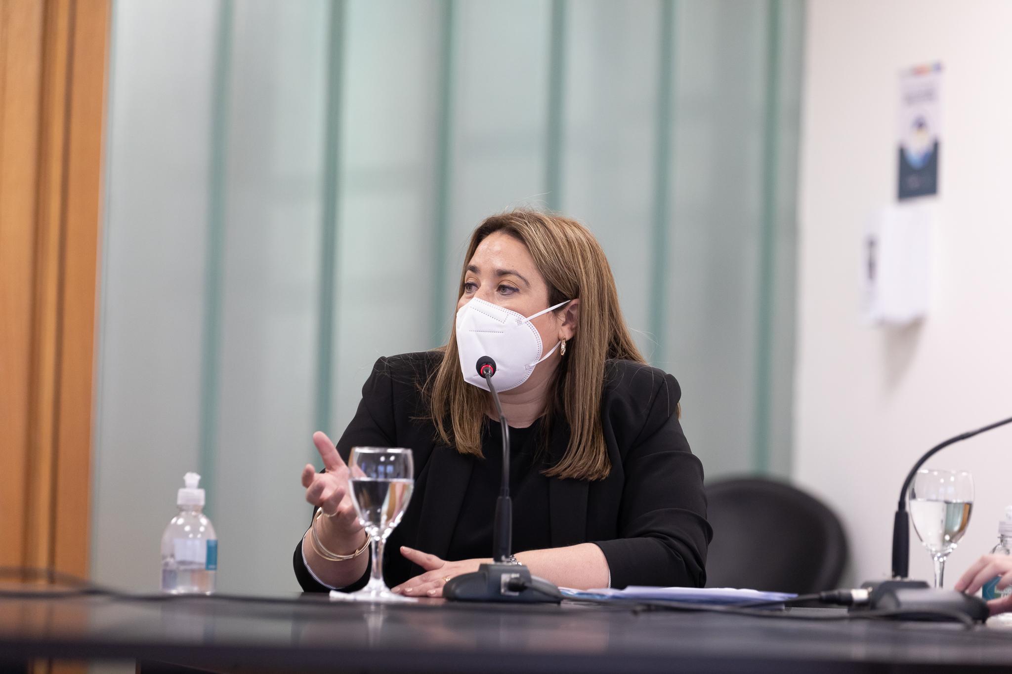 Verónica Soisa, directora de Asuntos Legales Ministerio de Educación