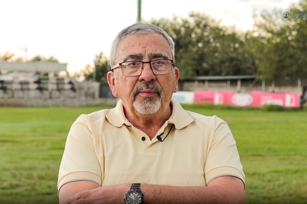 Roberto Españon, secretario Club All Boys