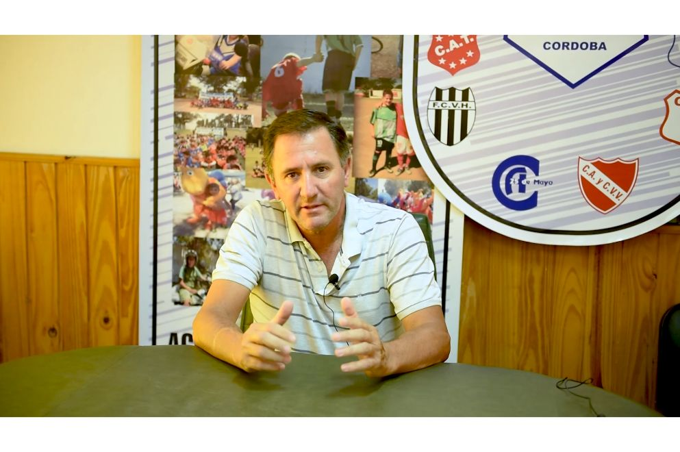 Juan Puchetta, presidente Liga de Fútbol Gral Roca