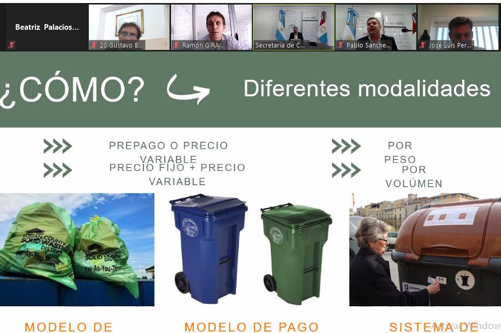 La gestión de residuos: tema de debate en el trabajo de comisión