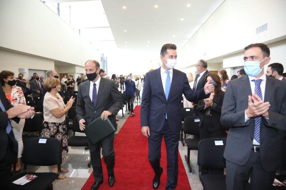 Manuel Calvo presente en la apertura del Año Judicial, en Marcos Juárez