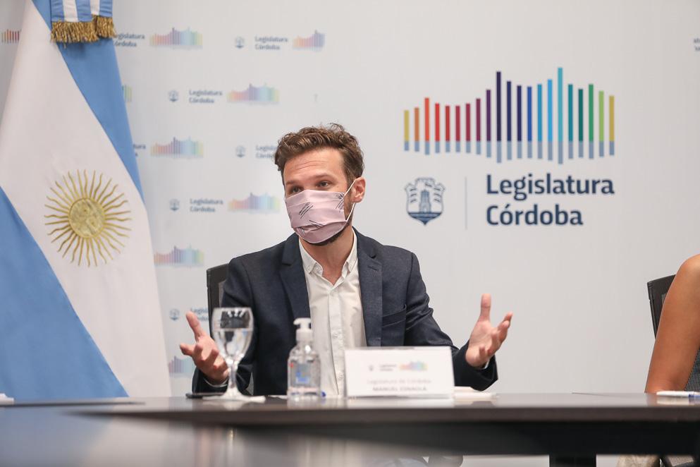 Manuel Esnaola, prosecretario Técnico Parlamentario de la Legislatura