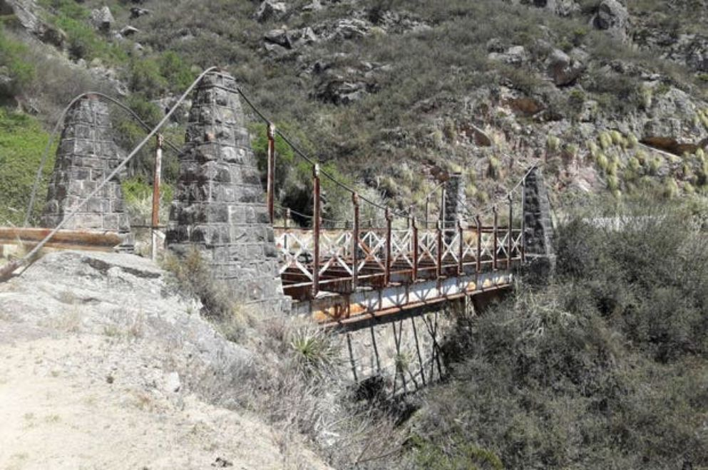 """Buscan revalorizar el """"Camino de los Puentes Colgantes"""""""