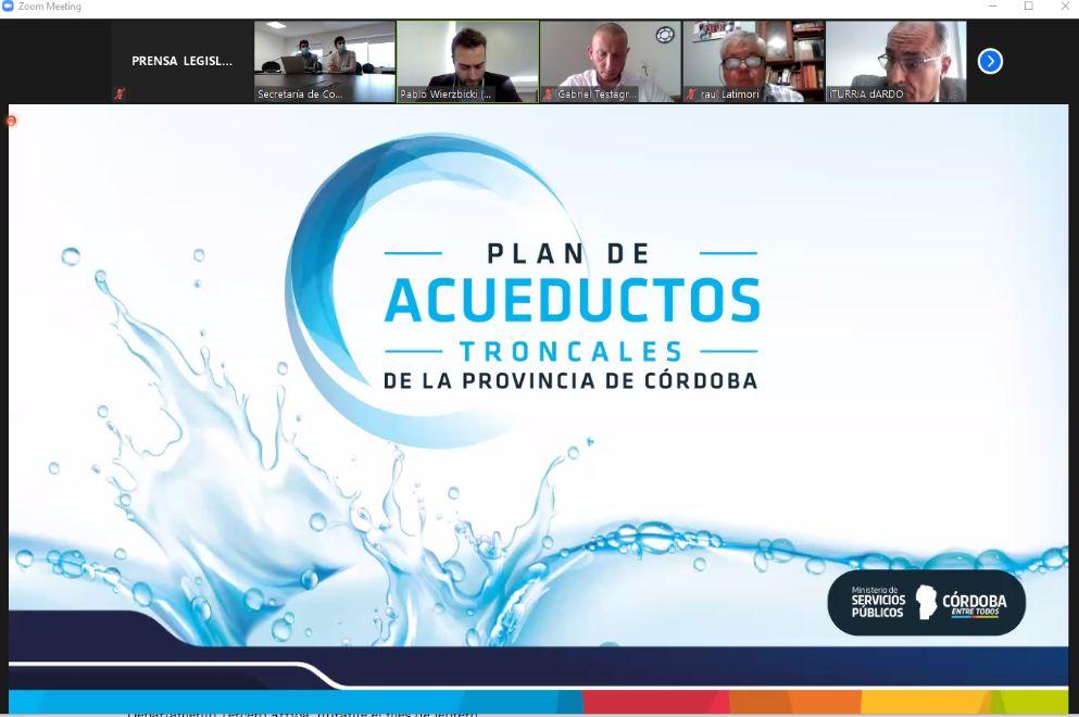Funcionarios de Recursos Hídricos participaron de las comisiones de Obras y Servicios Públicos