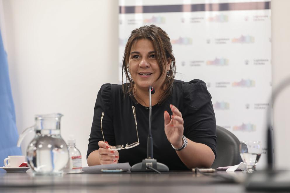 Legisladora Nadia Fernández