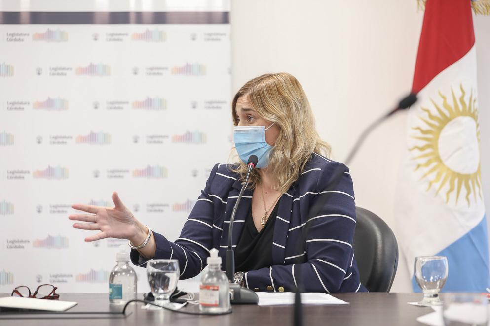 Legisladora Mariana Caserio, presidenta de la Comisión de Turismo