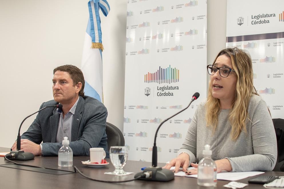 Legisladora Daniela Gudiño
