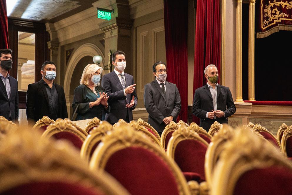 La Legislatura homenajeó al Teatro Libertador San Martín en su 130° aniversario
