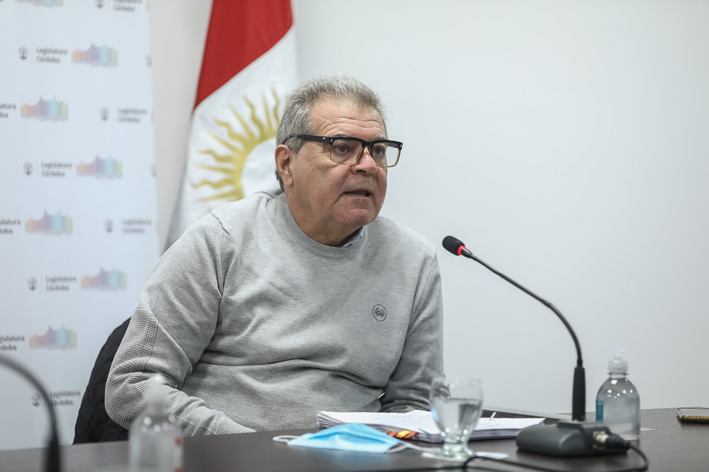 Ministro Sergio Busso