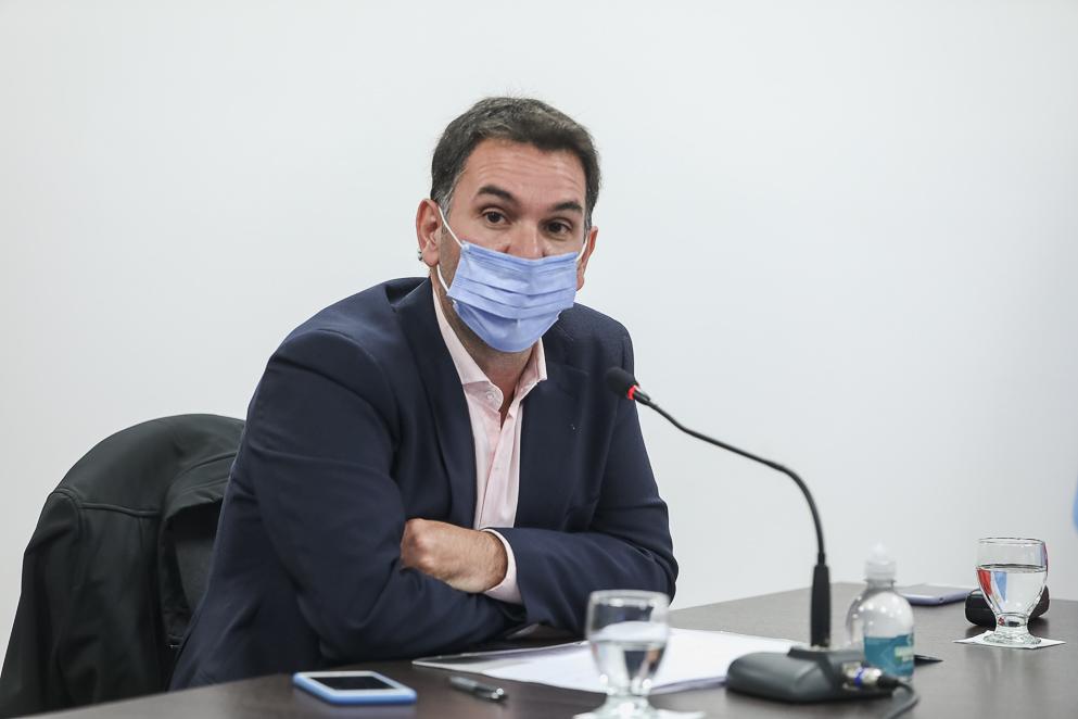 El ministro Busso participó de reunión de la Comisión de Agricultura