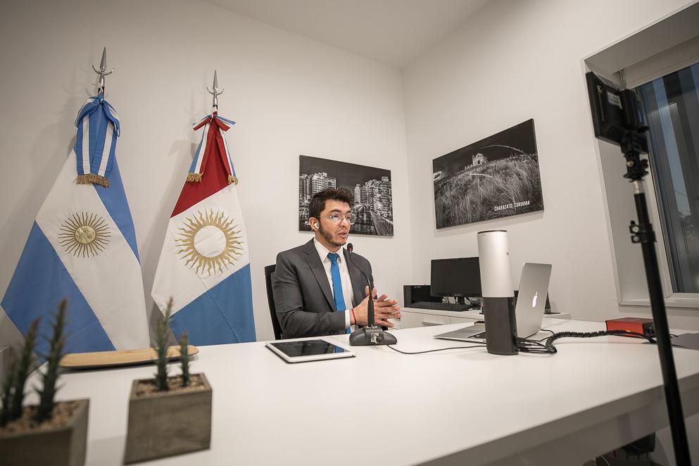 Pablo Cardozo Herrera, director de Informática y Telecomunicaciones de la Legislatura