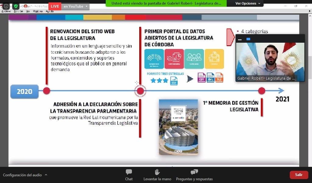 """Legislaturas abiertas: experiencias latinoamericanas de parlamento abierto"""""""