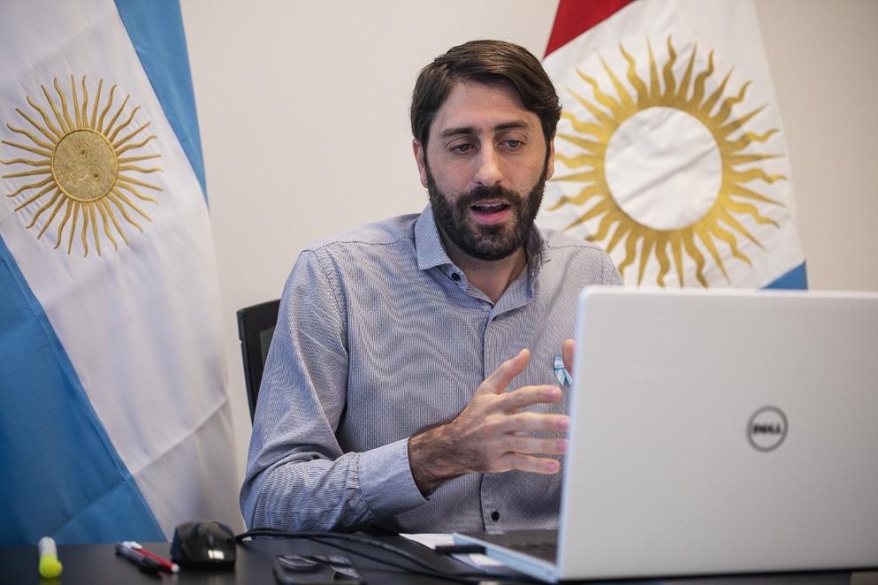 Gabriel Roberi, Secretario Técnico Parlamentario de la Legislatura de Córdoba