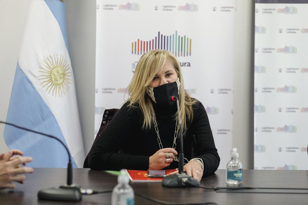 Legisladora Elisa Caffaratti