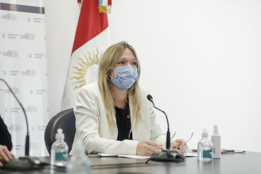 Georgina Tavella, secretaria de la SeNAF
