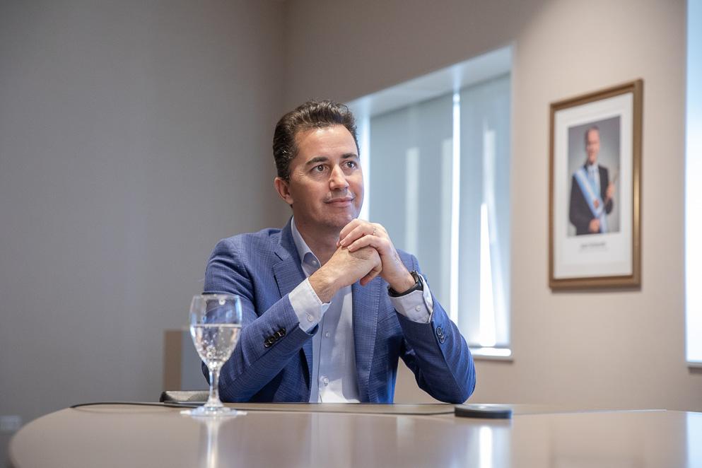 Calvo puso en marcha la segunda cohorte de la Diplomatura en Poder Legislativo y Procedimiento Parlamentario