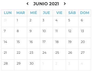 Agenda Junio 2021