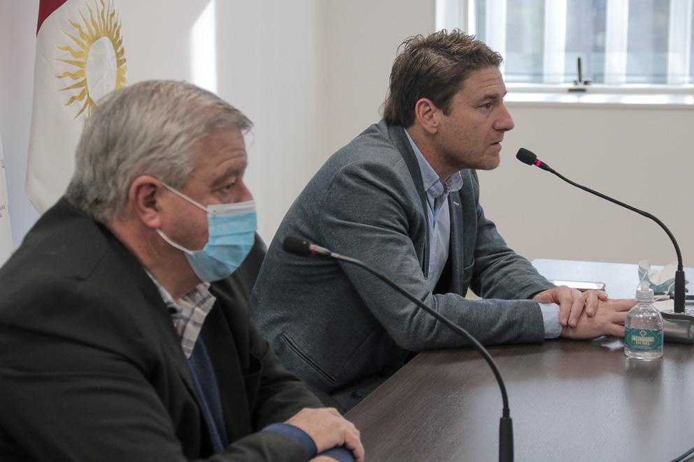 Legisladores Raúl Latimori y Leonardo Limia