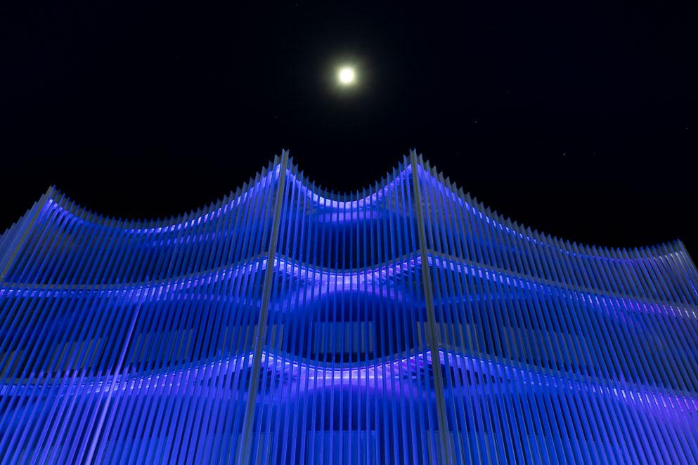 La Legislatura se ilumina de azul durante la Semana Provincial de la Prevención del Consumo de Drogas