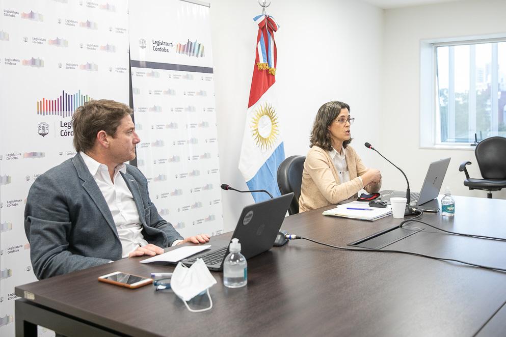 Legislador Leandro Limia y Sofía Devalle