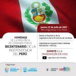 Homenaje por el Bicentenario de la Independencia del Perú