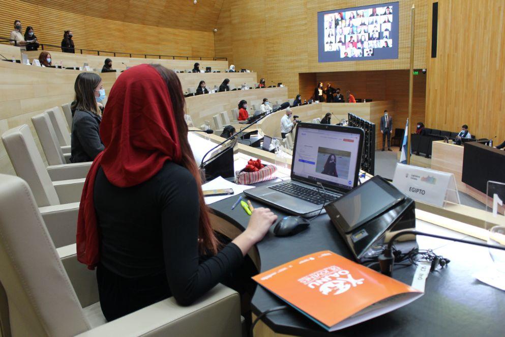 La Legislatura es sede del II Modelo ONU Mujeres de OAJNU