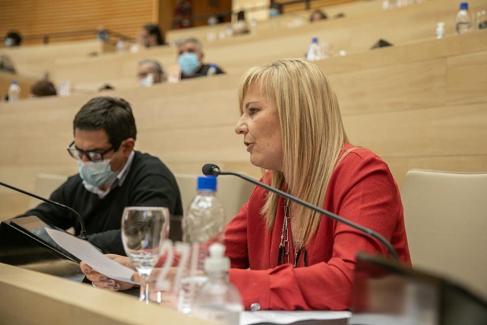 Legisladora María Elisa Caffaratti